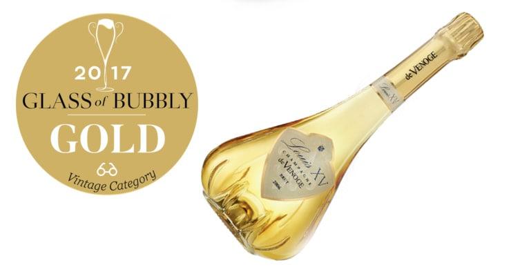 Champagne De Venoge - Louis XV 1996 - Gold Vintage - Glass Of Bubbly