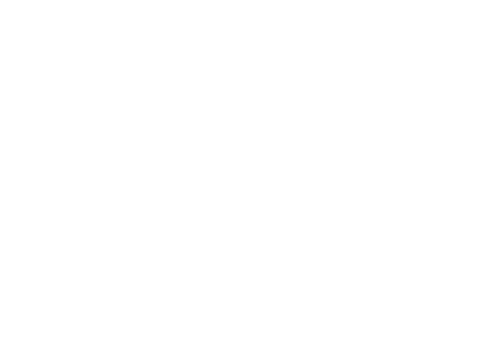 painting of a symbol like a triangle with a tail extending from its left side like the shaft and feathers of an arrow, with three small semicircles in the head of the arrow