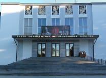 The Aleksander Węgierko Dramatyczny Theatre was built in 1938 (Krzysztof Kundzicz/CC BY-SA 3.0)