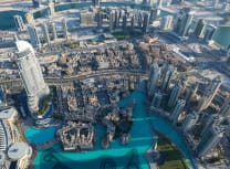 Aerial view of Dubai (Thanzi Thanzeer/Unsplash)