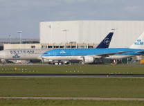 Schiphol has around a thousand hectares of grassed lands around its runways (Maarten Visser/CC BY-SA 2.0)