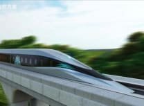 A rendering of the train in action (Southwest Jiaotong University)