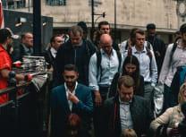 Commuters in pre-pandemic London, 2019 (Karl Bewick/Unsplash)