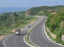 India's National Highway No. 1 near Jammu (Courtesy of the National Highways Authority of India)