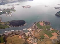Aerial view of Cork Harbour (acediscovery/CC BY 4.0)