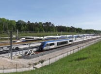 French commuter trains at Besançon-TGV railway station in the department of Doubs (Florian Pépellin/CC BY-SA 3.0)
