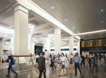 City Rail Link's rendering of the new Britomart Station