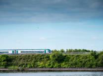 A train in Galway (Mark Gusev/Dreamstime)