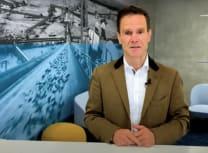 Dominik von Achten explaining his company's aims (HeidelbergCement)