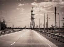 A BRI road is in Kazakhstan. One of the core aims of the BRI is to build trans-Asian trade corridors (Dreamstime)