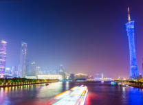 The Pearl River in Guangzhou. The Greater Bay Area accounts for 12% of China's GDP (Dreamstime)