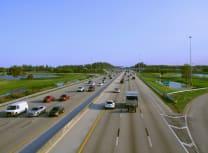 佛罗里达收费高速公路上的交通(Mike Kuhlman/Dreamstime)