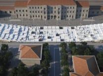 Baglivo Negrini's concave piazza
