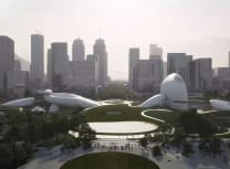 Beijing-based MAD Architects' design for a Shenzhen culture park (MAD)
