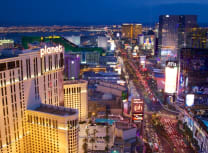The Las Vegas strip (David Watts Jr/Dreamstime)