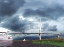 Vis Group's rendering of the Kaliningrad Bay bridge
