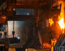 China's steel production up 13% amid infrastructure surge