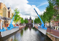 Amsterdam picks novel Japanese approach to renovate canals without making a mess