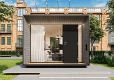 小巧的可移动房屋在欧洲越来越受欢迎
