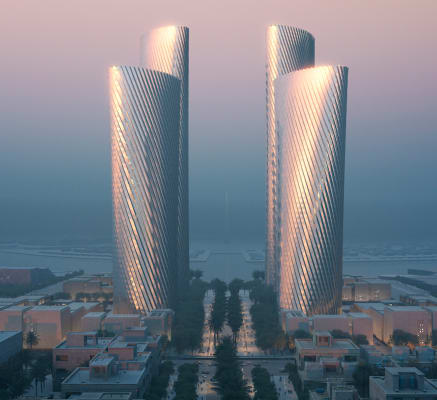 """Foster + Partners used own software for """"instantaneous"""" collaboration on Qatar's Lusail Towers"""