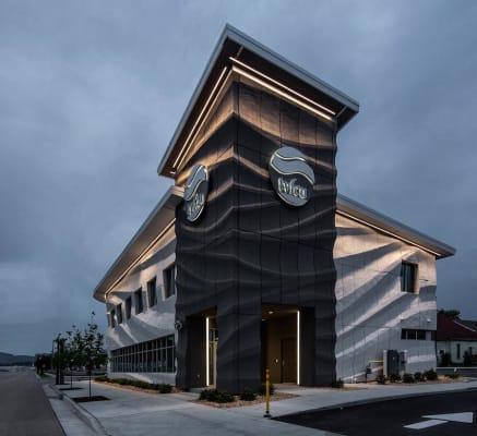 世界上第一个3D打印立面在查塔努加,田纳西州