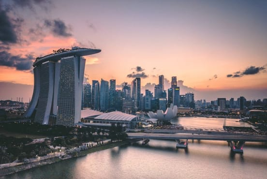 Singapore skyline, by Swapnil Bapat/Unsplash