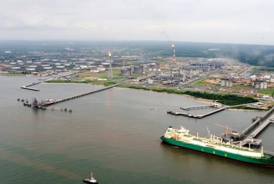 The Bonny Island LNG plant (Daewoo E&C)