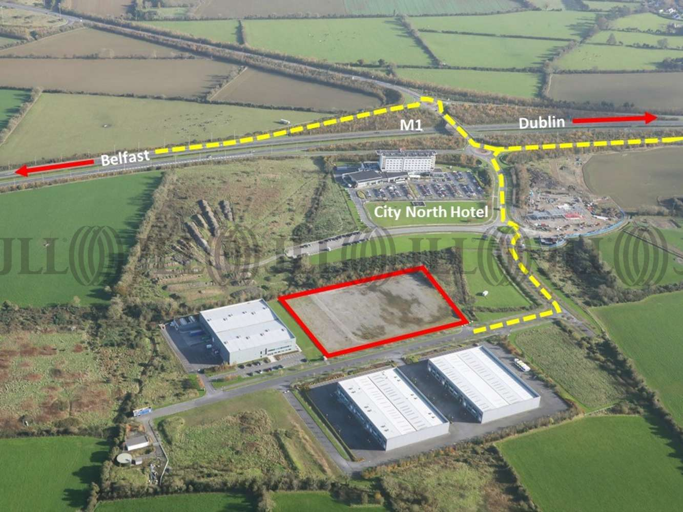 Industrial land Stamullen,  - Unit 6, City North Business Campus