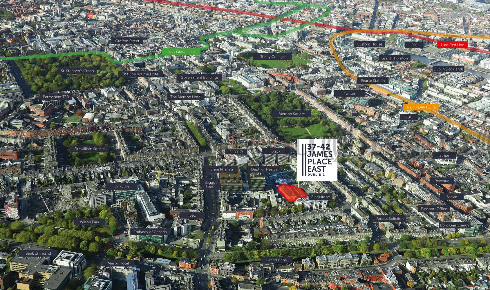 Development land Dublin 2, D02 XE08 - James Place East