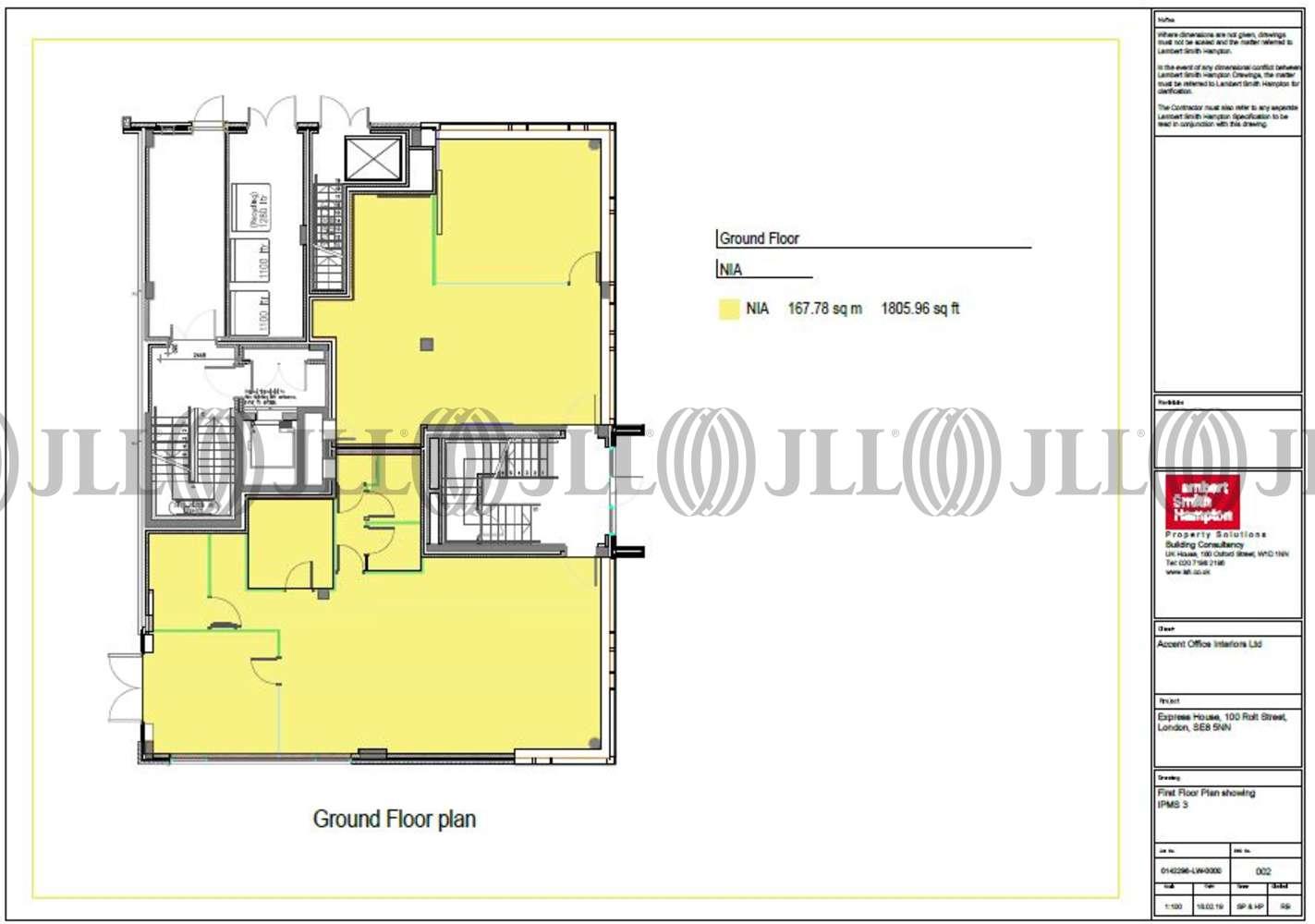 Office London, SE8 5NN - 100 Rolt Street