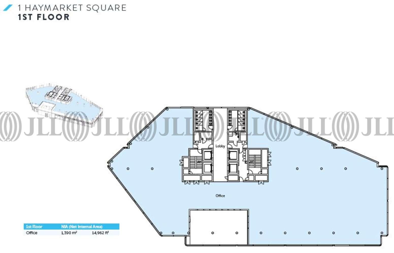 Office Edinburgh, EH3 8DT - 1 Haymarket Square