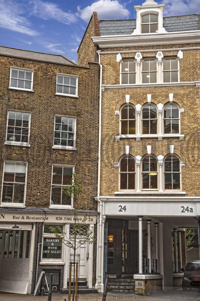 Serviced office London, EC1M 4AY - 24-26 St. John Street