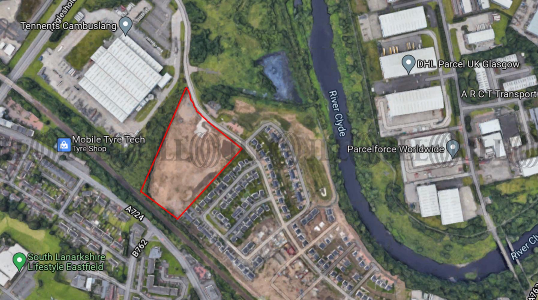 Land Glasgow, G72 7DX - Cambuslang Investment Park Commercial Development Site