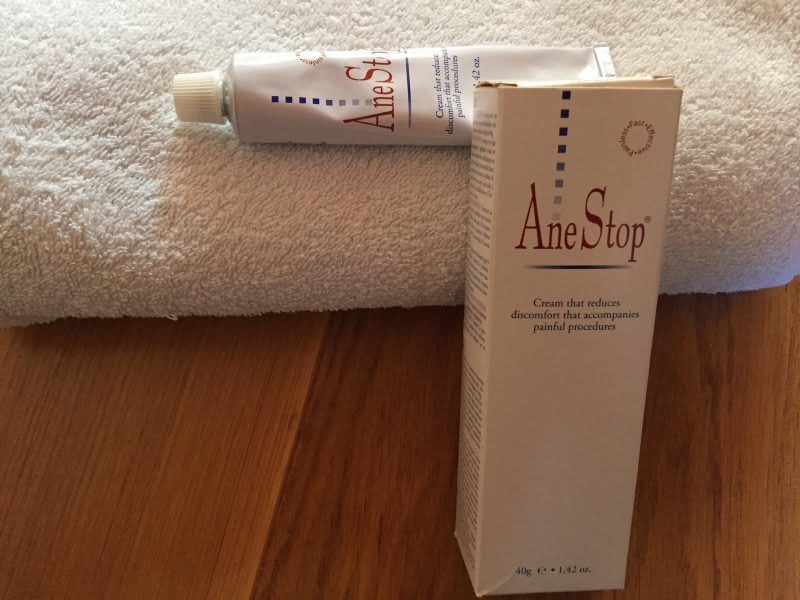 Anestop numbing gel