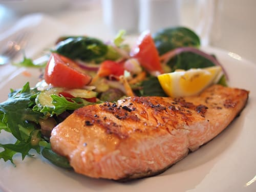 Salmon is the perfect fish