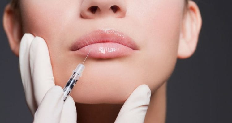 the local anesthesia for filler