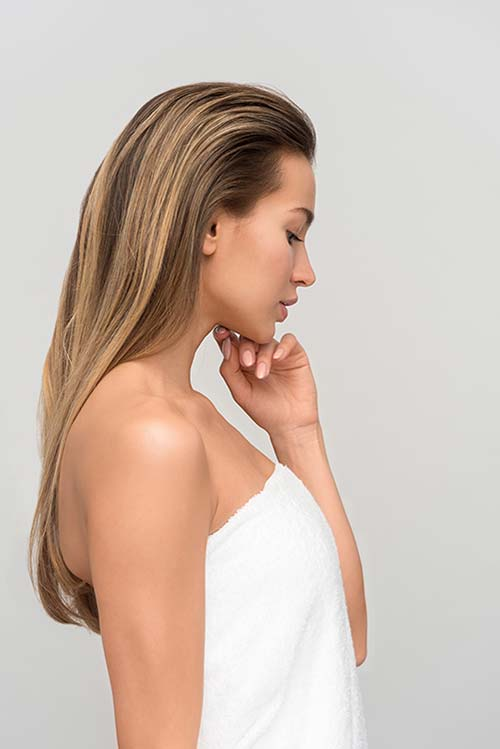 Anestop aesthetic treatment skincare woman ready