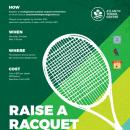 raise a racquet