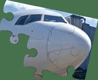Pieces GAF program puzzle