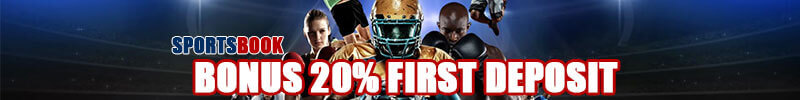 Bonus Deposit Pertama 20% Sportsbook