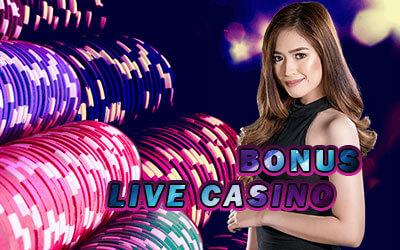 Promo Welcome Bonus Live Casino