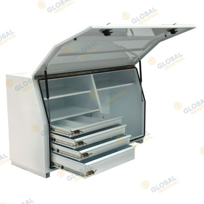 N Series Toolbox - Steel Minebox with Internal Drawers