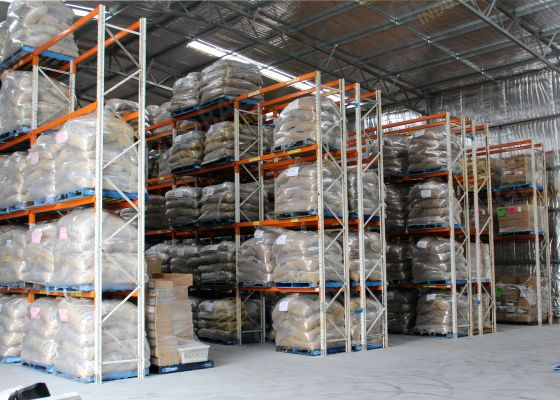 Pallet Racking for Coffee Bean supplier, Middle Swan, WA