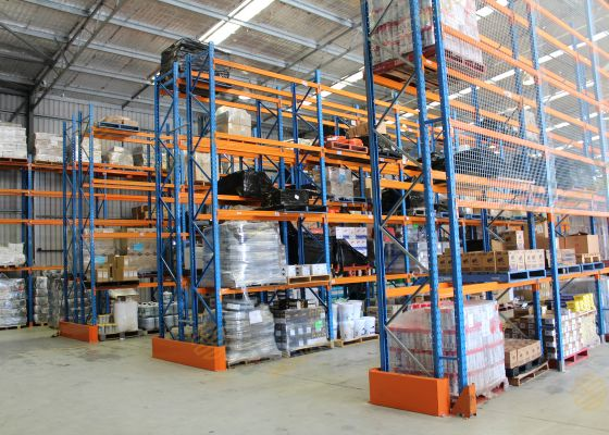 Pallet Racking for a mining supply company, Belmont, WA