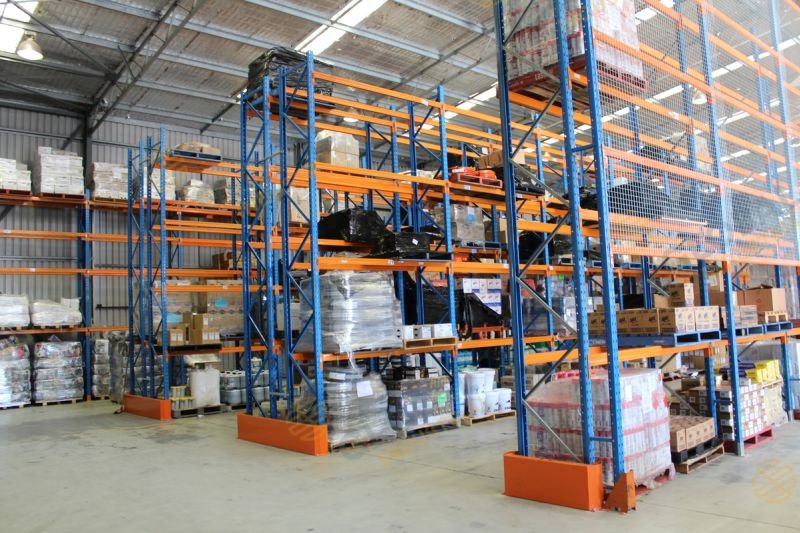 Pallet Racking for mining parts supplier