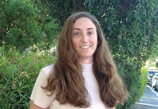 דנה פרידמן,  עובדת סוציאלית / צילום: גיא נרדי
