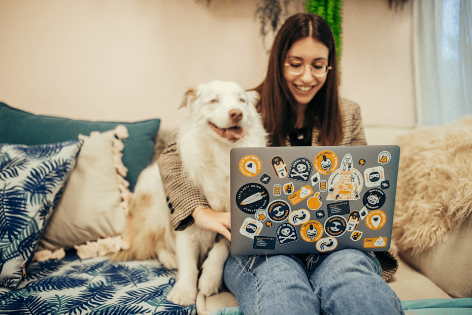 משרדי Gett. יום צילומים מיוחד לכלבי החברה / צילום: יונה קפלן ודודי אייזנטל techstura