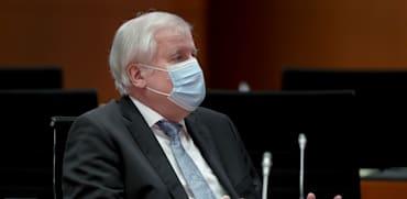 שר הפנים הגרמני הורסט זיהופר / צילום: Associated Press, Michael Sohn