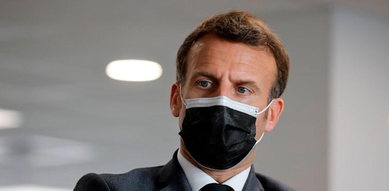 נשיא צרפת עמנואל מקרון / צילום: Associated Press, Ludovic Marin