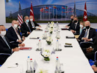 "פגישת נאט""ו / צילום: Associated Press, Patrick Semansky"